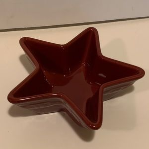 LONGABERGER STAR DISH.